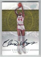 2013-14 ELVIN HAYES UPPER DECK UD EXQUISITE YELLOW ON CARD AUTO #2/5 HOUSTON