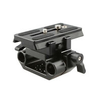 New Manfrotto Mounting Baseplate Stabilizer For DSLR Camera shoulder Tripod Rig