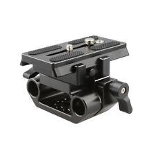 CAMVATE Manfrotto Mounting Baseplate For DSLR Camera shoulder Tripod Rig