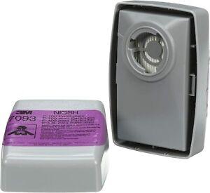 3M 7093 P1OO Replacement Respirator Cartridge/Filter 1 Pair, EXP. Date 12/2025