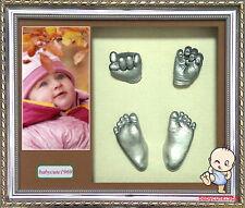 Baby 3D Casting Kit & Shadowbox frame 34L x 29W x 6.5Hcm BCY