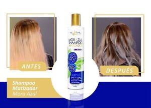 shampoo matizador Mora Azul