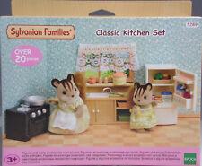 Sylvanian Families 5289 Klassisches Küchen-Set Herd Kühlschrank Spüle Zubeh. NEU