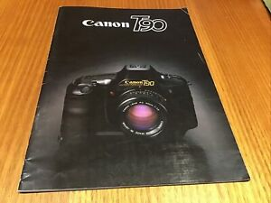 Canon T90 Brochure 1985