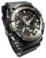 Casio Reloj, g Shock, luz, Temporizador, Alarma, GA-200-1AER, nuevo