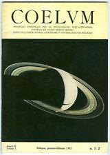 COELUM rivista di astronomia - ASTRONOMY - ASTRONOMIE - lotto 34 fascicoli