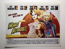 Mars Attack Movie - 8x10 Photo - Buy 3, Get 1 FREE!