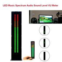 AS60 Digital LED Music Spectrum Stereo Audio Indicator Amp Sound Level VU Meter
