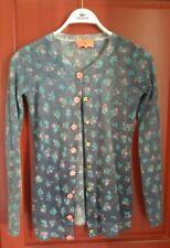 Magnifique gilet en laine Manoush gorgeous floral wool cardigan new!