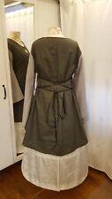 Mittelalter Kleid Tunika Gewand LARP Gothic Größe 46 48 50 XXL Leinen grau