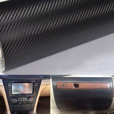 New Car Interior Vinyl Sticker DIY Carbon Fiber Dashboard Trim Wrap Sheet Film Q