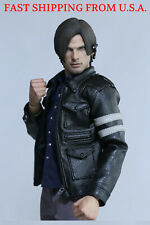 1/6 Scale Leon Kennedy Resident Evil Leather Jacket Clothing Set ❶USA IN STOCK❶