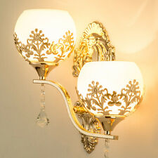 LED Crystal Wall Lamp Bedroom Bedside Light Living Room Wall Lights Wall Sconce