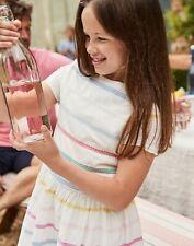 Joules Girls Teaparty Woven Dress  - MULTICOLOUR STRIPE