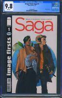 Image Firsts Saga 1 (Image) CGC 9.8 White Pages Reprint of Saga 1