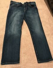 CURRENT ELLIOTT Blue Medium Wash The Boyfriend TM Loved Jeans Size 25
