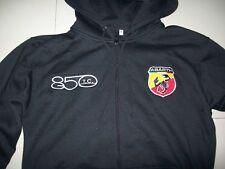 NUOVO ABARTH 850tc con Cappuccio Maglione Hoodie Nero Haagse Jacket JAS Giacca Vest Gilet