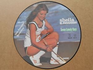 "Sheila Seven Lonely Days 12"" MAXI 45T Picture Disc"