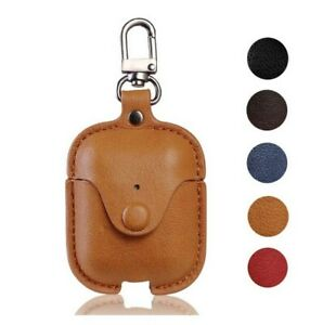 For Apple AirPods Pro Case Genuine Leather Cover Retro Protective Earphoens Skin
