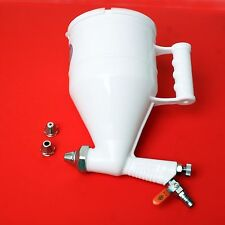 Stucco Mortar Plaster Texture Sprayer Hopper Gun  Korea Made 2500cc 3-nozzles