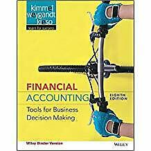 Financial Accounting Tools for Business Decision Making Eighth Edition WileyPlus