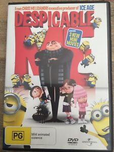 DESPICABLE ME DVD REGION 2,4,5