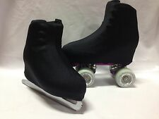 Black Boot Covers for RollerSkates and Ice Skates  S,M,L