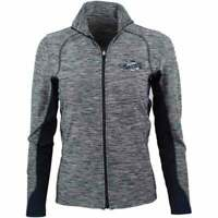 SHOEBACCA Heather Colorblock Layering Jacket  Athletic   Outerwear Grey Womens -