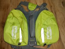 OUTWARD HOUND Raise The Woof Dog Harness Jacket green/ Grey Ripstop One Size