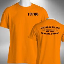 Alcatraz Island Mens T-Shirt Funny Halloween Prison Fancy Dress