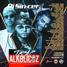 DJ SINCERO Trap Alkolicoz 7 Reggaeton Latin Spanish Mixtape CD MIX