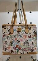 Disney Dooney And Bourke Sketch Shopper Tote Purse,Handbag,Bag,NWT