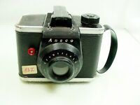 1953 Ansco Readyflash Art Deco Film Camera Binghamton NY | Tested | $6 | #83I #6