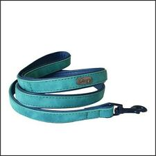 Faux Leather Dog Leash - Green - 1.2 m