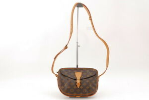【Rank BC】Auth Louis Vuitton Monogram Genefille Shoulder bag From Japan A384