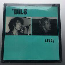 THE DILS Live PUNK VINYL LP RECORD -Sealed- RARE