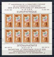 36282) Niger 1964 MNH Europafrica Ms