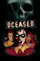 DCEASED #4 (OF 6) HORROR MOVIE CARD STOCK VARIANT 2019 DC COMICS 8/7/19 NM