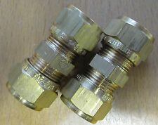 Set of 2 Kuterlite 10mm Straight Connector  Plumbing Fittings YK61010