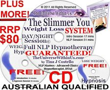 WEIGHT LOSS CLINICAL HYPNOSIS FULL SYSTEM CD incl TOOLS NLP PACK WEIGHTLOSS Diet