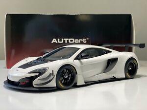 1/18 Autoart McLaren 650s GT3 White