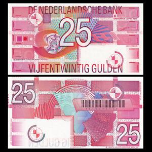 Netherlands Antilles 25 Gulden, 1989, P-100, UNC