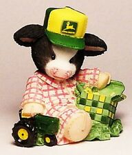 NEW MOO MOO COW MOO-EY CHRISTMAS TO A JOHN DEERE BOY COW RETIRED 1999 18 YRS OLD