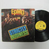 EPMD – Strictly Business LP 1988 US ORIG Erick Sermon PUBLIC ENEMY HIP HOP RAP