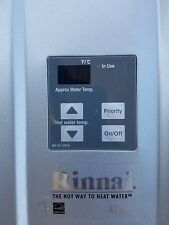 Rinnai tankless water heater natural gas