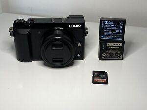 Panasonic LUMIX GX80 16.0MP Mirrorless Camera - Black (kit w/ 12-32mm Lens)