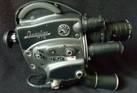 BEAULIEU R16 Automatic Zoom Angenieux 4x17B 16mm film camera + Accessoires case