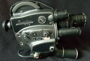 BEAULIEU R16 Automatic Zoom Angenieux 4x17B 16mm film camera + Accessoires case