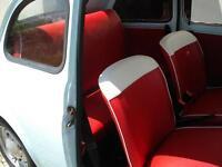 Tappezzeria Fiat 500 Epoca  completa di pannelli anteriori/ posteriori strutture
