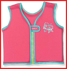 Speedo Girl Sea Squad Float Vest, Vegas Pink, 2-4 Years